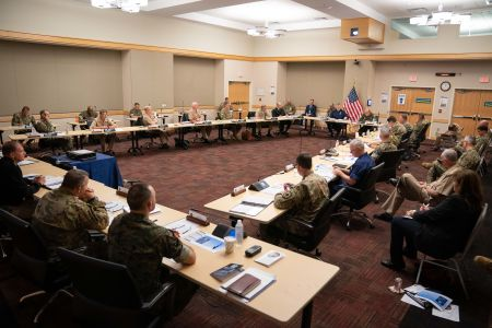 The 2021 Allied Warfighter Talks at the Pentagon, Washington D.C., June 3, 2021. DOD Photo by Navy Petty Officer 1st Class Carlos M. Vazquez II