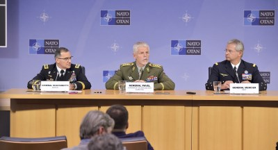 General Mercier and NATO Chiefs of Defence meet ahead of Warsaw Summit