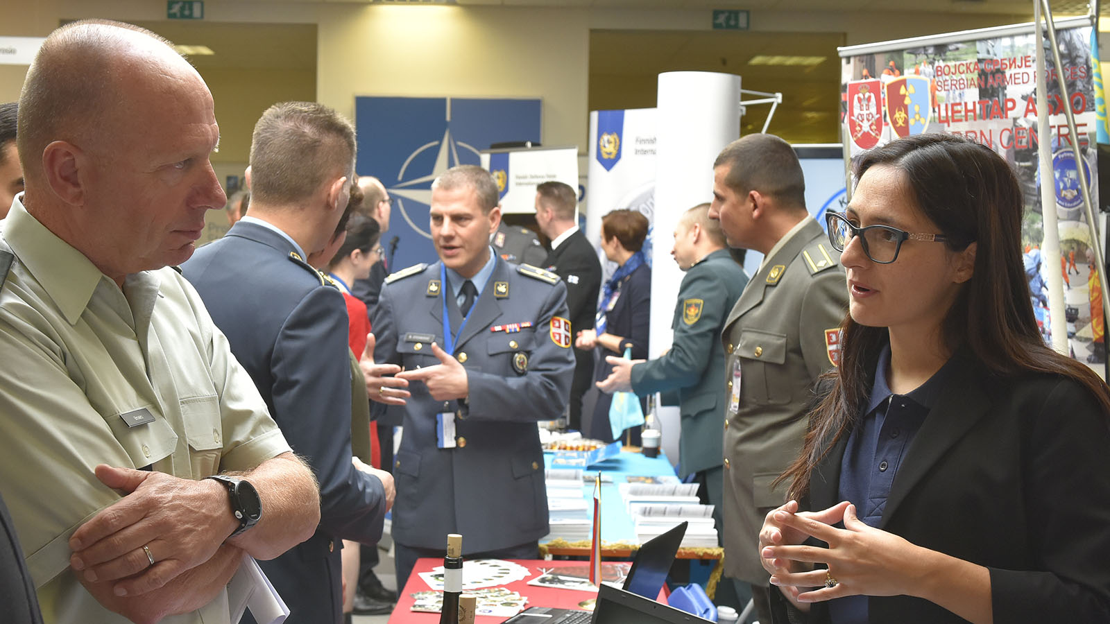 Sharing Skills, Expertise: NATO and Partners Join at the PTEC Marketplace 2017
