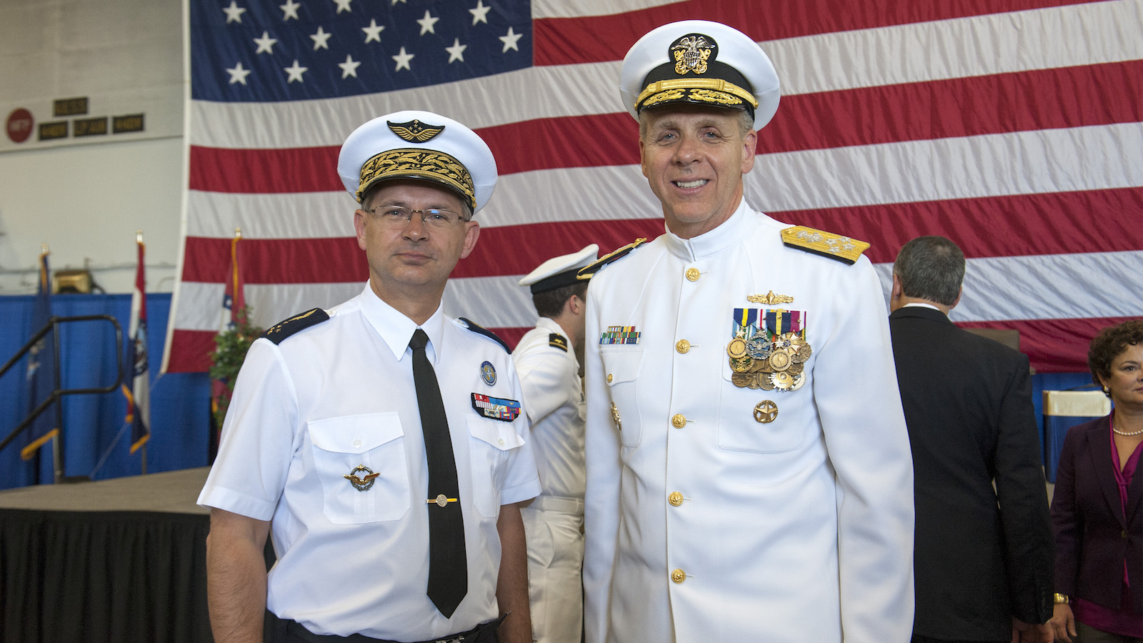 U.S. Fleet Forces Change of Command