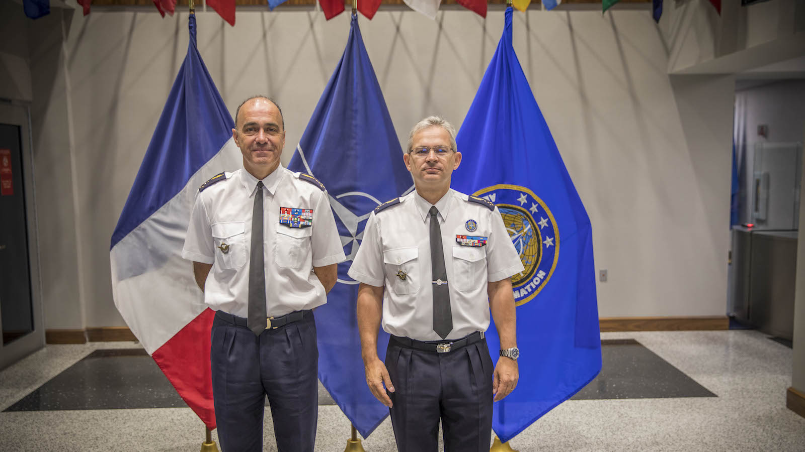 French Air Force Chief of Staff Visits Allied Command Transformation Headquarters