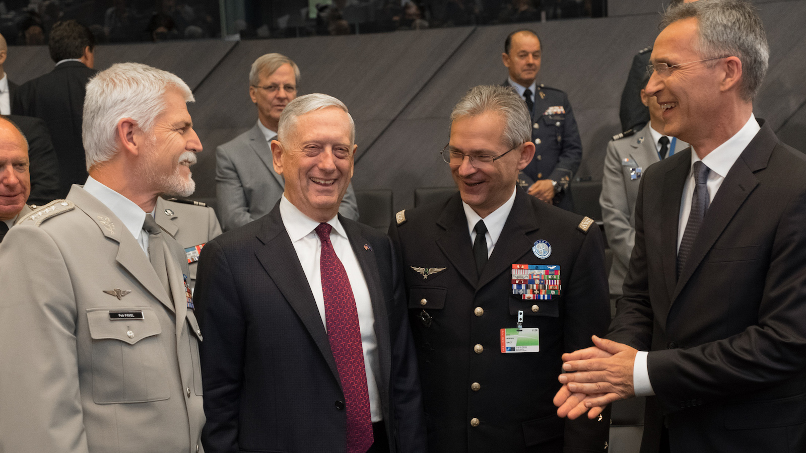 Defence Ministers and Allied Transformation